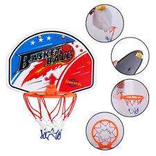 Kids Basketball Hoop Toys Plastic Mini Children Indoor Wall Backboard Rim Ball