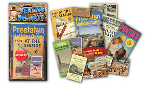 British Seaside Memorabilia Gift Pack with over 20 pieces of Replica Artwork