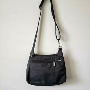 Travelon Gray Crossbody Travel RFID Purse Bag