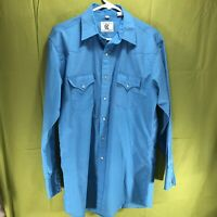 Vintage Corral West Pearl Snap Button Shirt Men's Size Medium