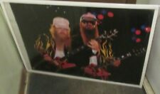 Zz Top Poster New 1986 Rare Vintage Collectible Oop Original