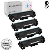 4pk CF248A 48A for HP New Black Toner Cartridge LaserJet Pro M15w M28w M15a