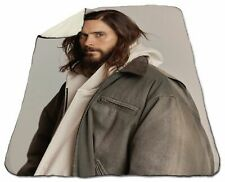 """Jared Leto Blanket Sherpa Fleece Winter 60"""" x 80"""" Queen Size NEW Christmas Sexy"""
