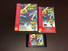 Spider-Man X-Men Arcade's Revenge Sega Genesis Complete CIB Authentic