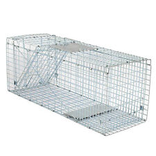 """Professional Humane Live Animal Trap 31"""" x 12.5"""" x 12"""" for Squirrel Rodent Cage"""