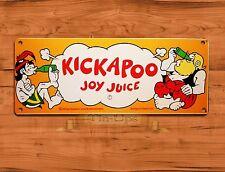 "TIN-UPS TIN SIGN ""Kickapoo Joy Juice"" Cola Soda Kitchen Rustic Wall Decor"