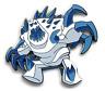 Disney Pin 114672 Frozen Marshmallow Abominable Snowman with Dark Blue Spikes