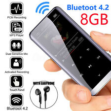 48 Hours Bluetooth4.2 MP3 Hifi Touch Screen Lossless Sound Music Player+Earphone