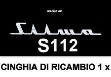 ★CINGHIA DI RICAMBIO MOTORE 1 x PROIETTORE SILMA S 112 SUPER 8 mm ★