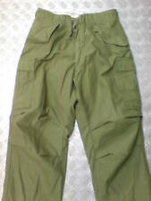 Genuine US Army M65 Trousers. Green / OD - Size: Medium Short