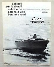 E392-Advertising Pubblicità-1965 - CELLI CANTIERI