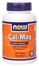 Now Foods, Cal-Mag, Stress Formula, 100 Tablets