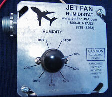 HUMIDISTAT - Automatic - Controls Your Attic Fan by Attic Humidity - Made in USA