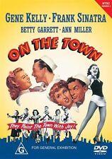 On The Town (DVD, 2003) Gene Kelly-Frank Sinatra-Betty Garrett-Ann Miller