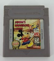 Mickey's Dangerous Chase Nintendo Game Boy Cartridge only Tested