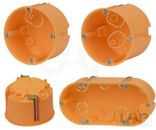 Hohlwanddosen Hohlraumdosen Schalterdosen Gerätedose HW Dose tief flach Ø68mm