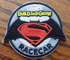 "Lowe's Build And Grow ""Batman Vs. Superman Race Car"" Iron-On Patch"