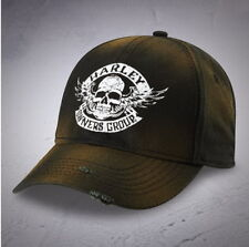 HARLEY DAVIDSON OWNERS GROUP HOG DISTRESSED WINGED SKULL HAT BALL CAP BASEBALL