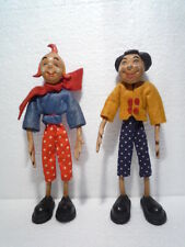 ORIGINAL  VINTAGE  FIGURES  MAX  &  MORITZ  EXTREMELY  RARE