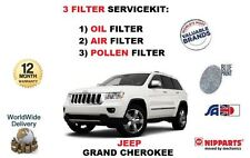 FOR JEEP GRAND CHEROKEE 6.4 2012-> OIL AIR FUEL POLLEN FILTER SERVICE KIT