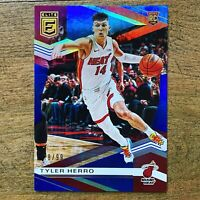 2019-20 Panini Donruss Elite Tyler Herro Blue Parallel 78/99 Heat Rookie RC