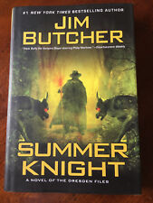 Dresden Files: Summer Knight 4 by Jim Butcher (2009, Hardcover) - 1st Ed/1st Pr