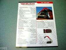 Takeuchi TL10 Track Loader Brochure