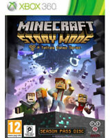 MINECRAFT STORY MODE Xbox 360-. 1st Class Fast & Free Delivery