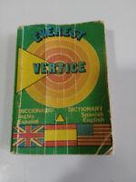 DICCIONARIO EDITORIAL EVEREST INGLES ESPAÑOL ENGLISH EDICION 1986 ANTIGUO
