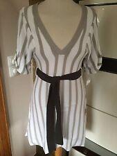 Mango MNG Strickkleid Kleid Tunika Feinstrick Gr. XS S 34 36 NEU