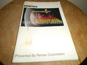 Scarce Photography Booklet....PENTAX ''The Infinite Image''
