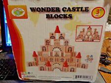 Wonder Castle Wood Blocks 112 Piece'S