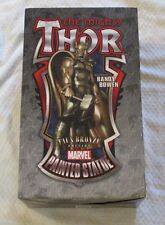Bowen Designs Thor Marvel Painted Statue Faux Bronze Edition