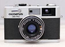 Olympus 35 RC Rangefinder Film Camera 42mm f/2.8 Lens, NEW SEALS, AS IS, READ