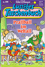 Lustiges Taschenbuch LTB Nr. 190 Prallball im Weltall  1. Auflage Top
