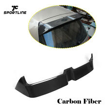Rear Roof Spoiler Wing For VW Golf VII 7 MK7 Non-GTI 14-17 Carbon Fiber Factory