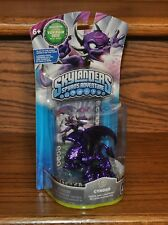 Skylanders Spyros Adventure Purple Metallic Cynder 2012 Toy Fair Rare NEW Sealed