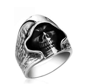 Knight Ring Man Sons of Anarchy The Dead Reaper Skull Biker