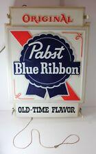 Pabst Blue Ribbon Modular Illuminated Window Display Light Up Backlit Beer Sign