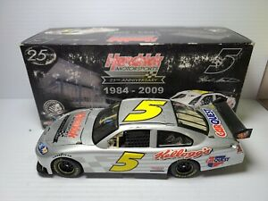 2009 Mark Martin #5 Kellogg's / Carquest Test Car Chevy 1:24 NASCAR Action MIB