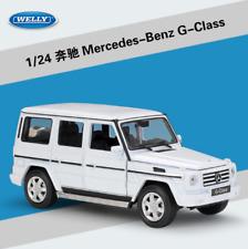 1:24 Welly Mercedes Benz G-Class G55 G500 Diecast Model Car Vehicle White