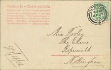 Miss Tooley. The Elms, Ropewalk, Nottingham. 1906.  RL.571