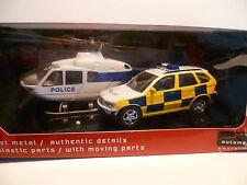 COFFRET DE POLICE BMW X 5 + HELICOPTERE ~  NEUF