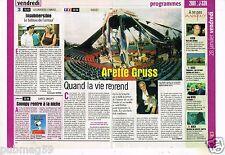 Coupure de Presse Clipping 2000 Le Cirque Arlette Gruss Tempete