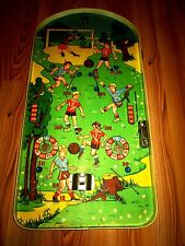 Old Vintage Toy Poosh-m-up Football Pinball