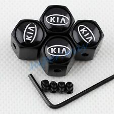 Tyre Air Vlave Caps Anti-theft Decor Cover For Kia Cee'd Carens Carnival Models