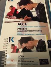 KAPLAN ACCA F2 Management Accounting Exam Kit + Pocket notes 2016-2017