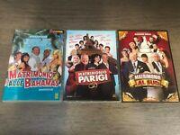 Matrimonio alle Bahamas + Matrimonio A Parigi + Matrimonio al sud (3 DVD)