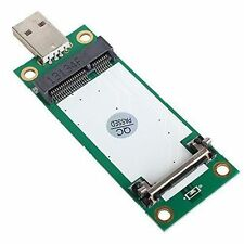 Mini PCI-E WWAN to USB Adapter Card with SIM Card Slot Module Testing Tools