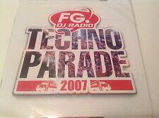 FG DJ Radio Techno Parade 2007 CD Album, 17 Tracks, EMI Music France - D